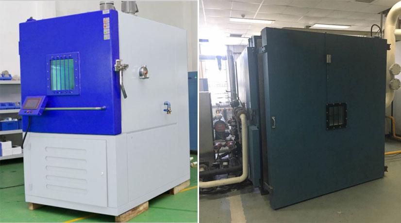 非标准定制低气压试验箱案例